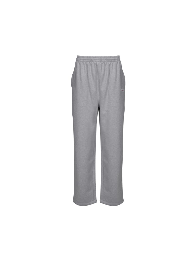 Balenciaga Sweatpants - Hther gr/white/red