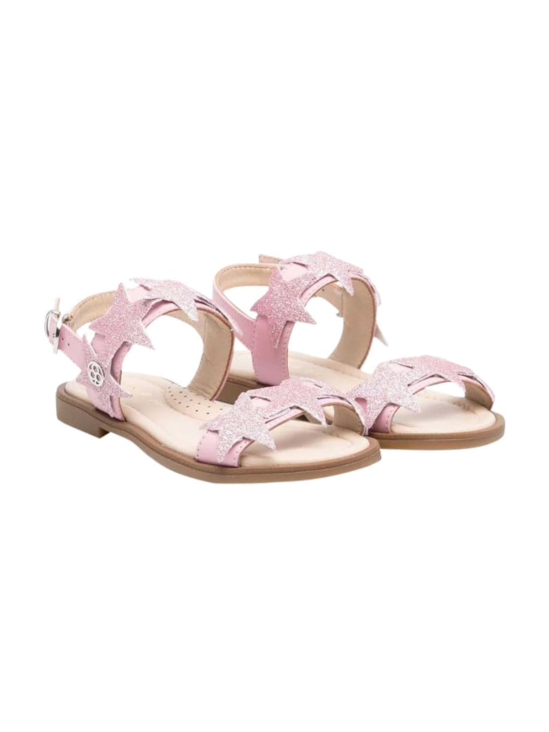 Florens Pink Sandals - Rosa glitter