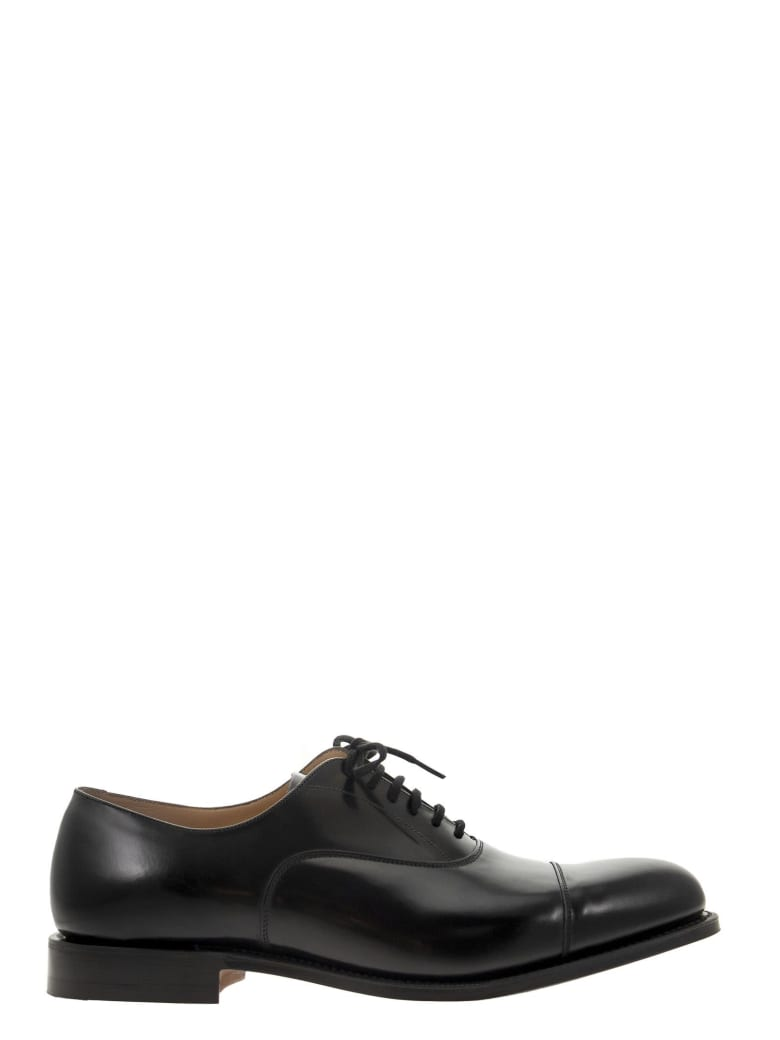 Church's Dubai - Oxford In Black Brushed Calf Leather - Black