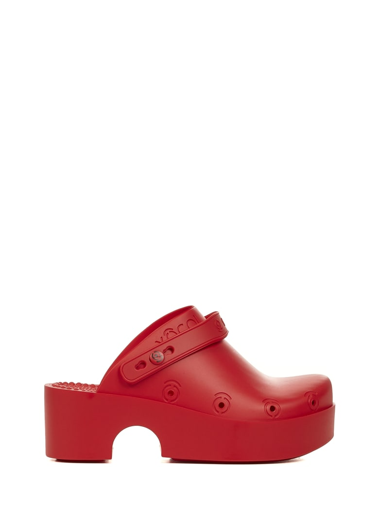 Xocoi Sandals - Red