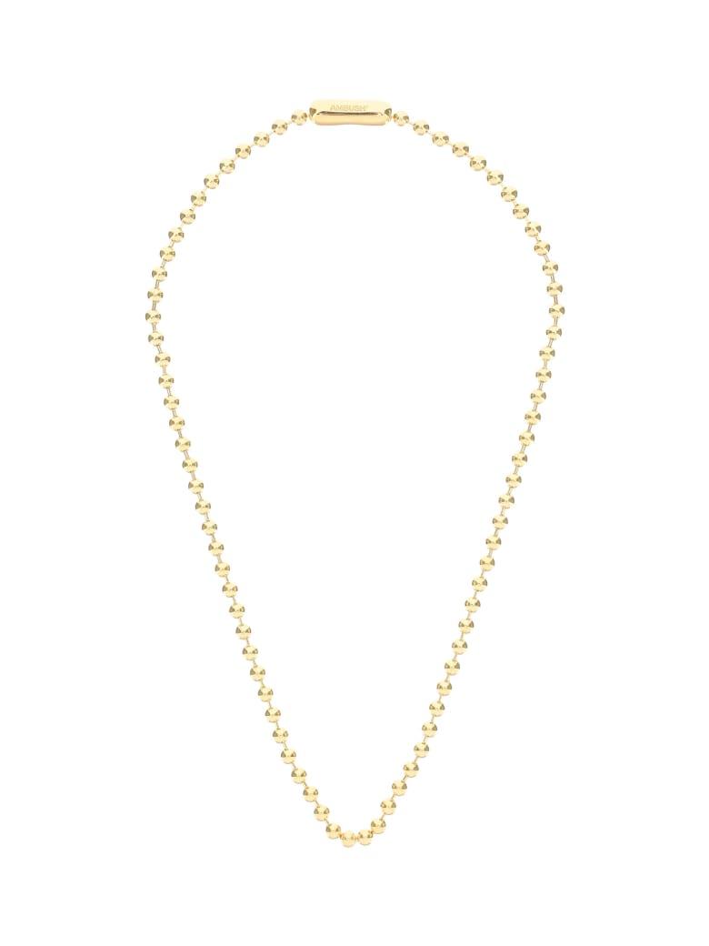 AMBUSH Ball Chain Necklace - Gold