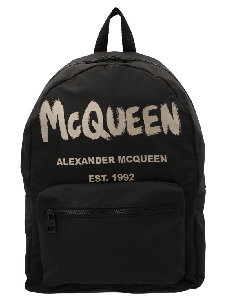 Alexander McQueen 'metropolitan' Bag - Black