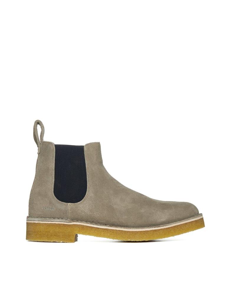 Clarks Boots - Grey interest