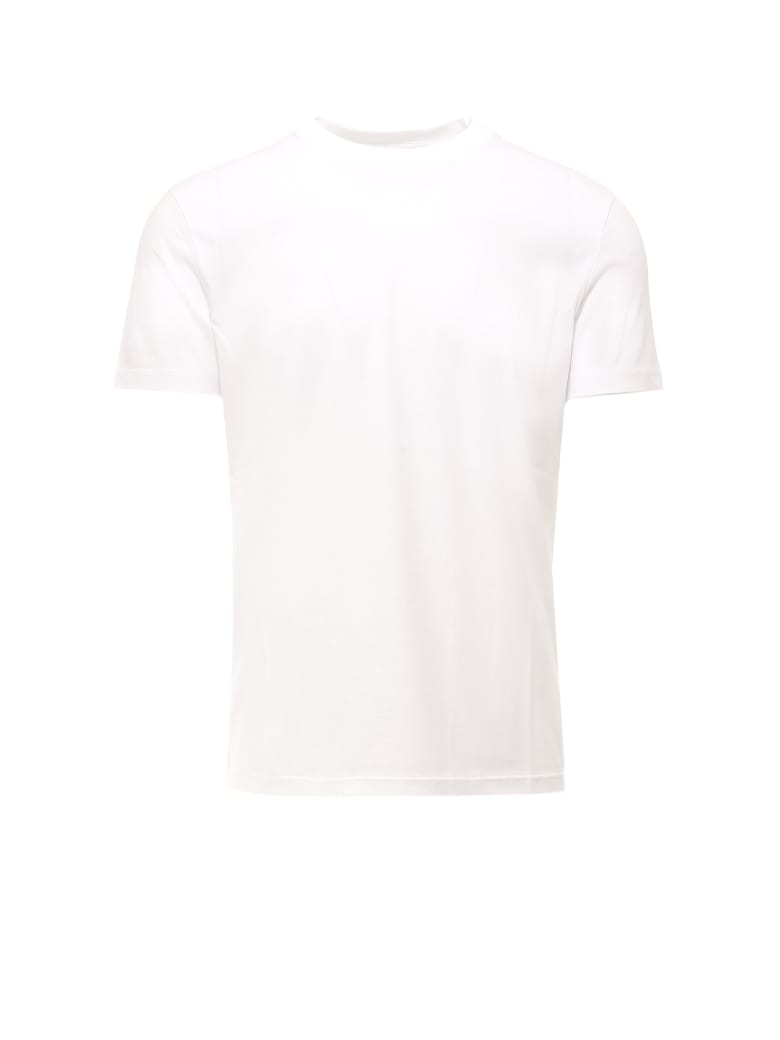 Prada Obvious Classic T-shirt - Bianco