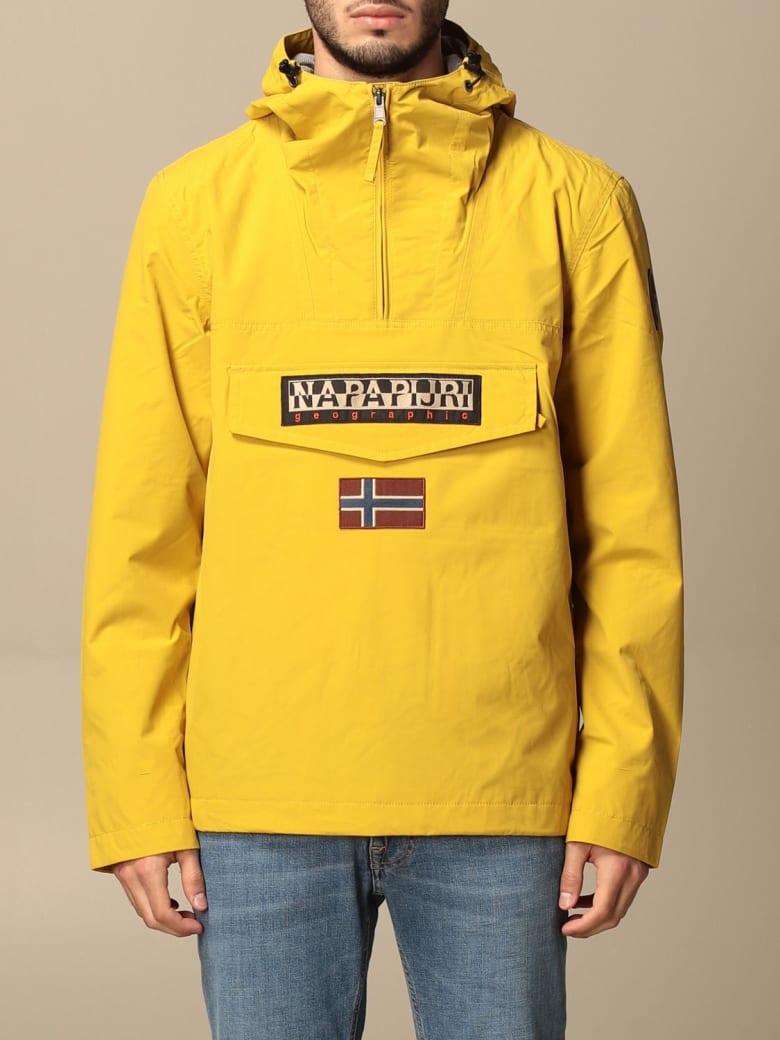 Napapijri Jacket Rainforest M Sum 2 Anorak Napapijri Jacket - Yellow