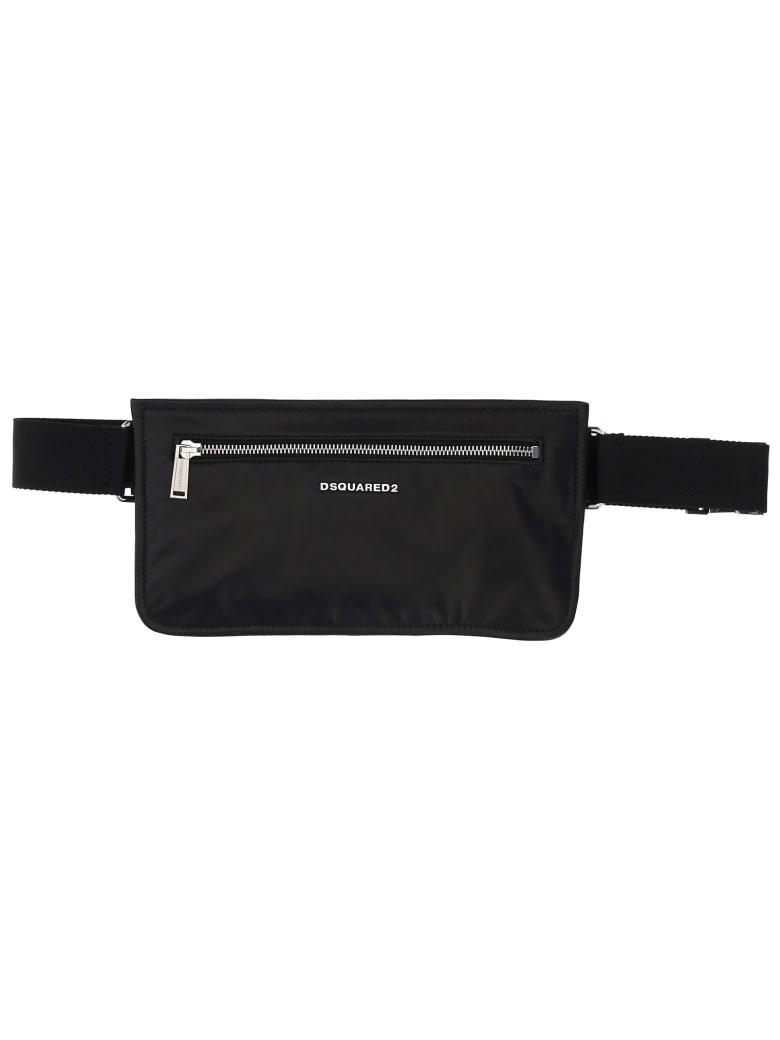 Dsquared2 Flat Belt Bag - Nero