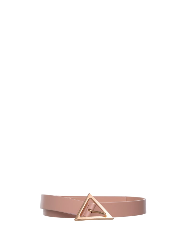 Bottega Veneta Belt - ALMOND GOLD