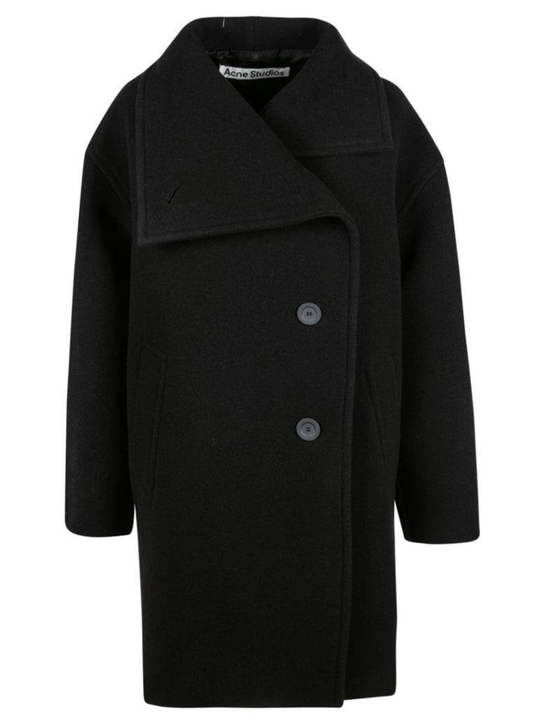 Acne Studios Wrap Coat - Black