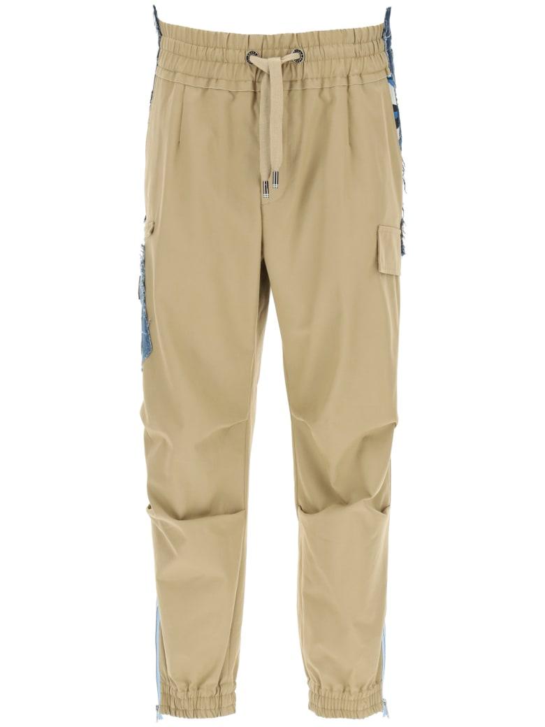 Dolce & Gabbana Cargo Trousers - Beige
