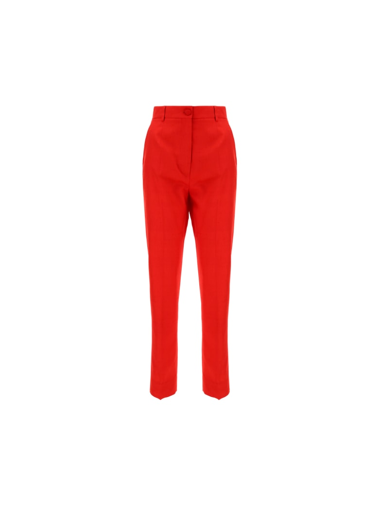 Dolce & Gabbana Pants - Rosso lampone