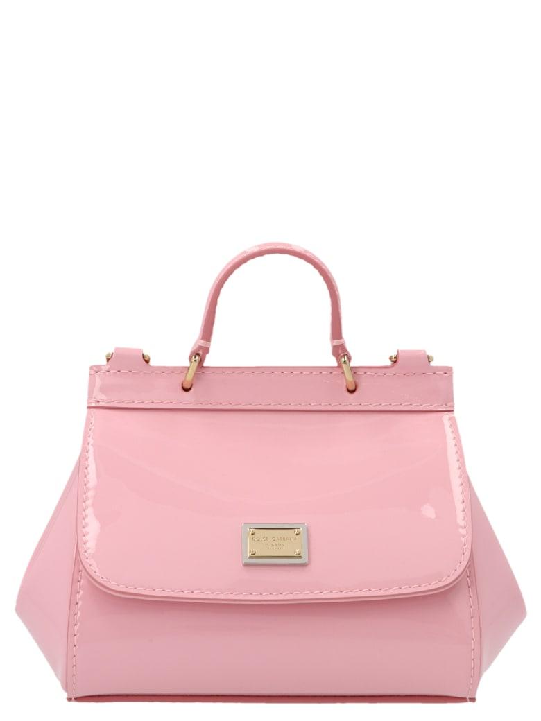 Dolce & Gabbana 'sicily Mini' Bag - Pink