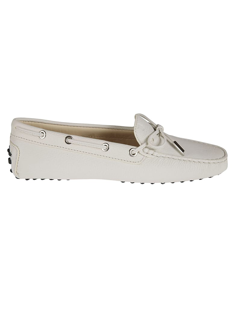Tod's Classic Driving Shoes - Gesso