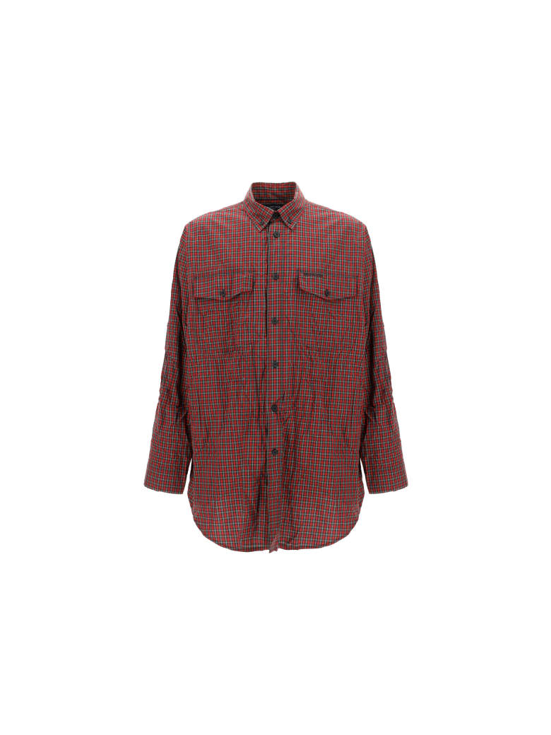 Balenciaga Shirt - Red/khaki