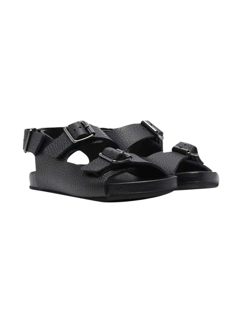 Gallucci Flat Sole Sandals - Nero