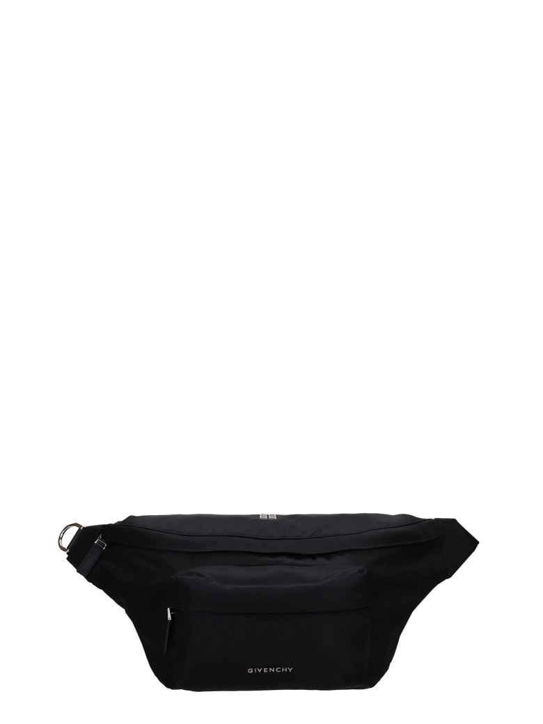 Givenchy Essential Waist Bag In Black Nylon - black