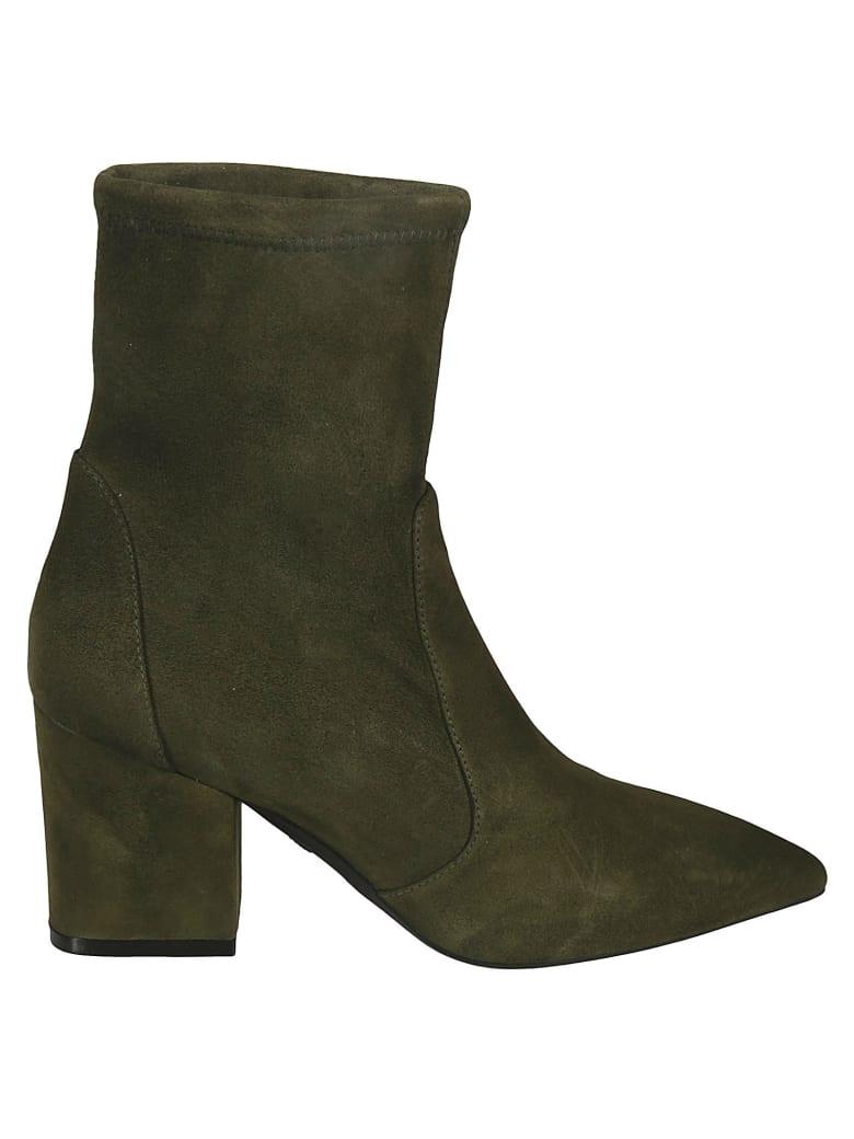 Stuart Weitzman Vernell 75 Boots - Green