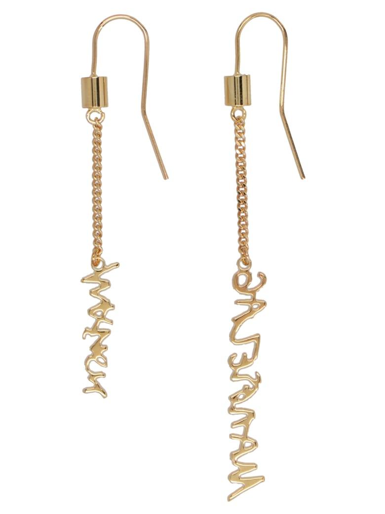 MM6 Maison Margiela Earrings - Gold