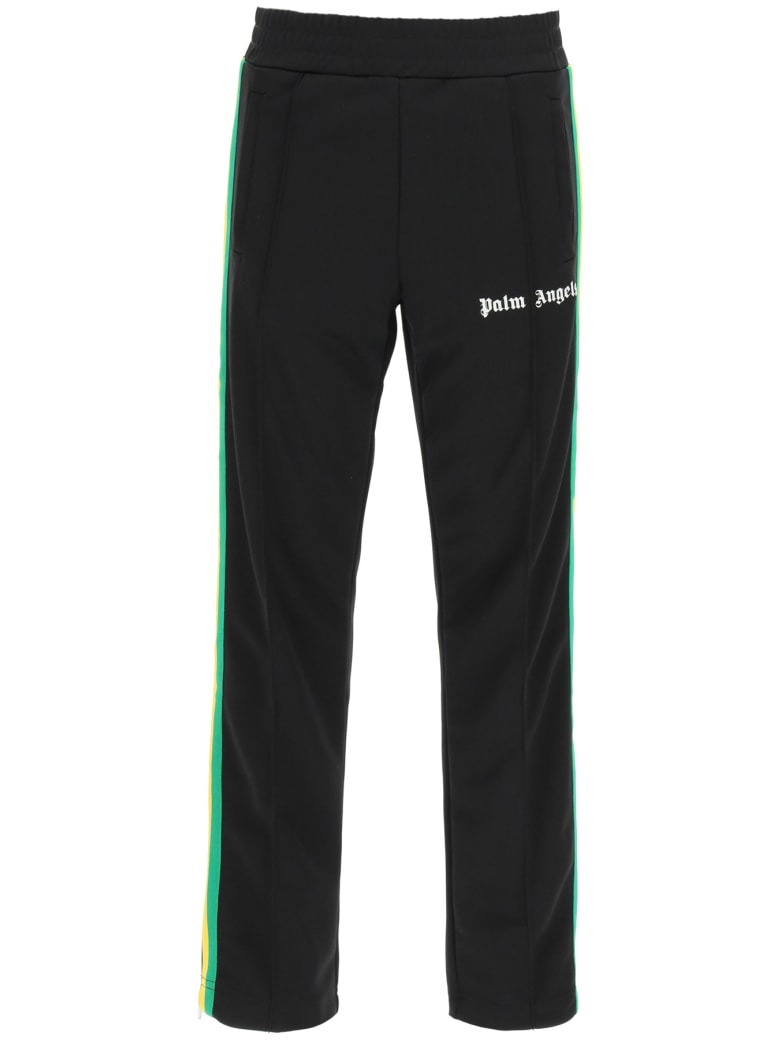Palm Angels Classic Jogging Trousers - Black White