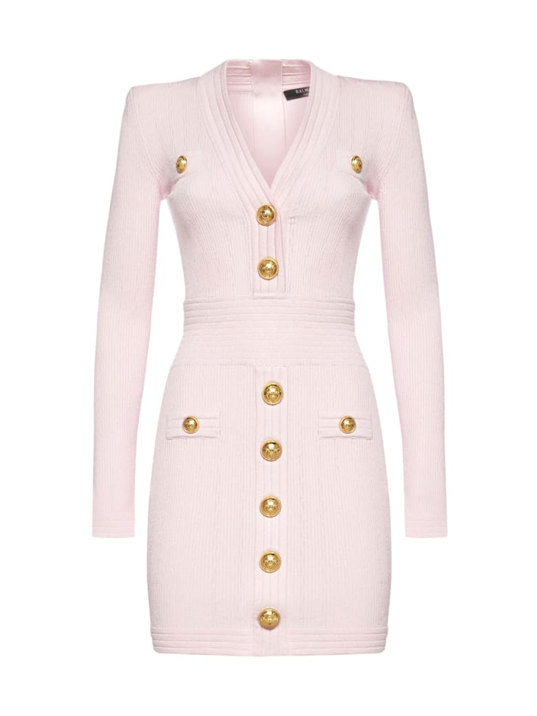Balmain Dress - Rose pale
