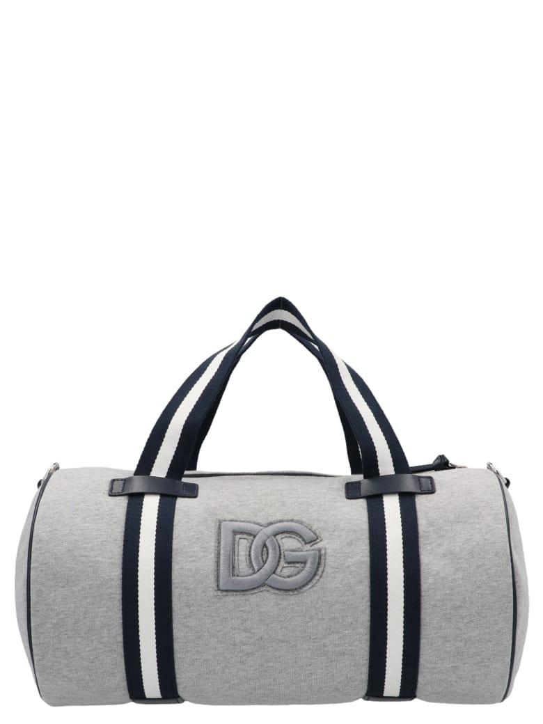 Dolce & Gabbana 'back To School' Weekender Bag - Grey