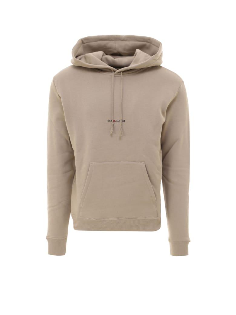 Saint Laurent Sweatshirt - Beige