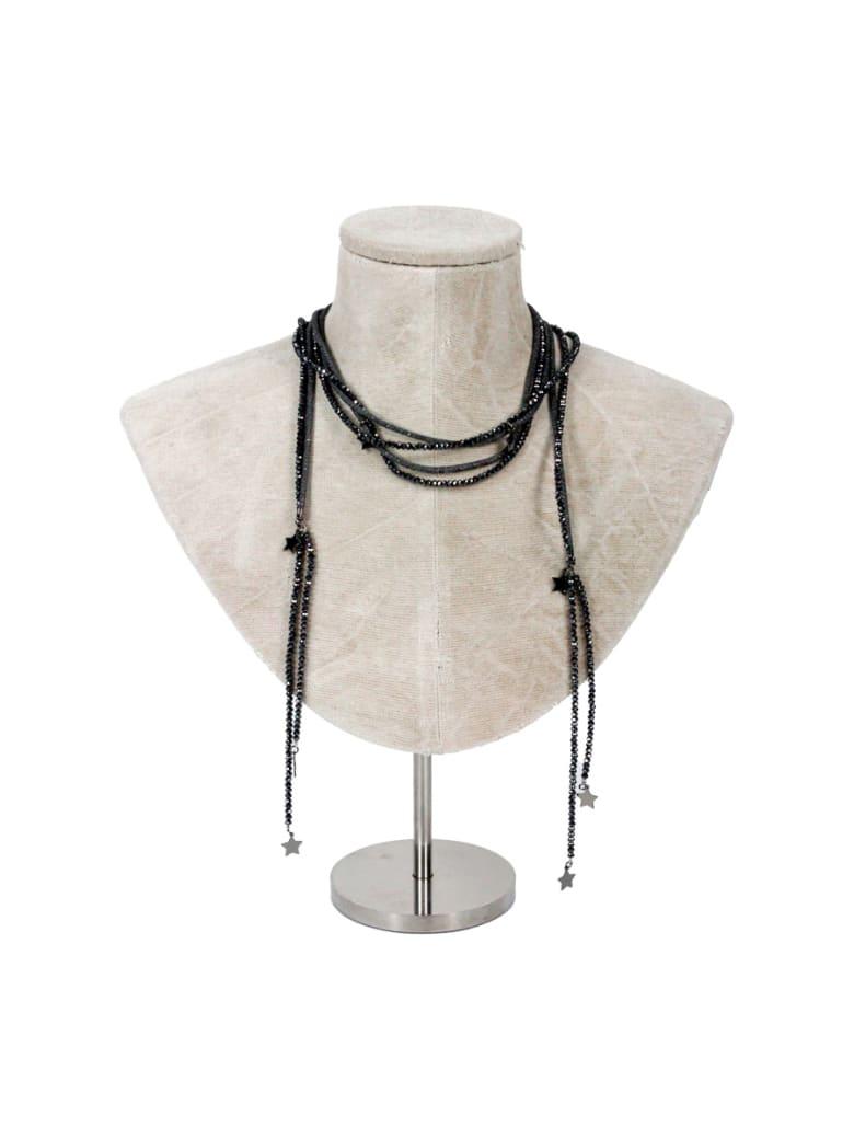 Lorena Antoniazzi Long Necklace - Black