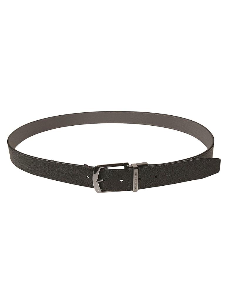 Michael Kors Grained Leather Belt - Black