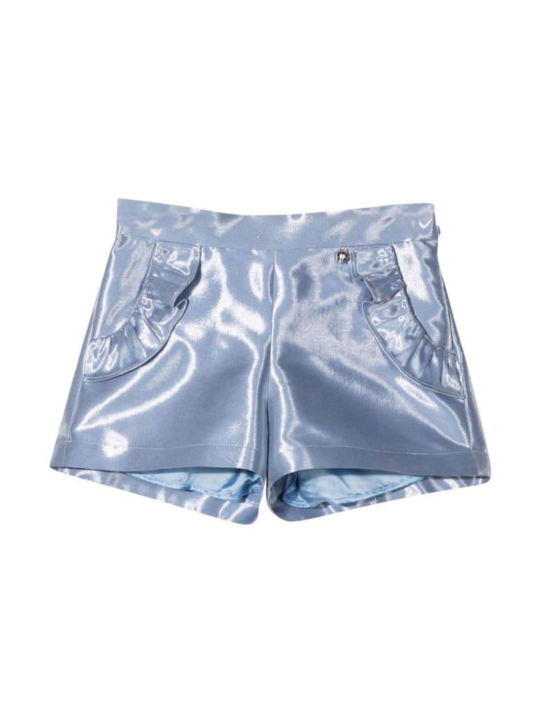 Simonetta Light Blue Shorts - Azzurro