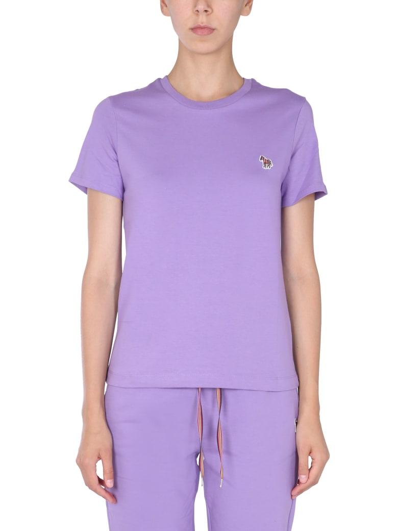 PS by Paul Smith Zebra T-shirt - LILLA