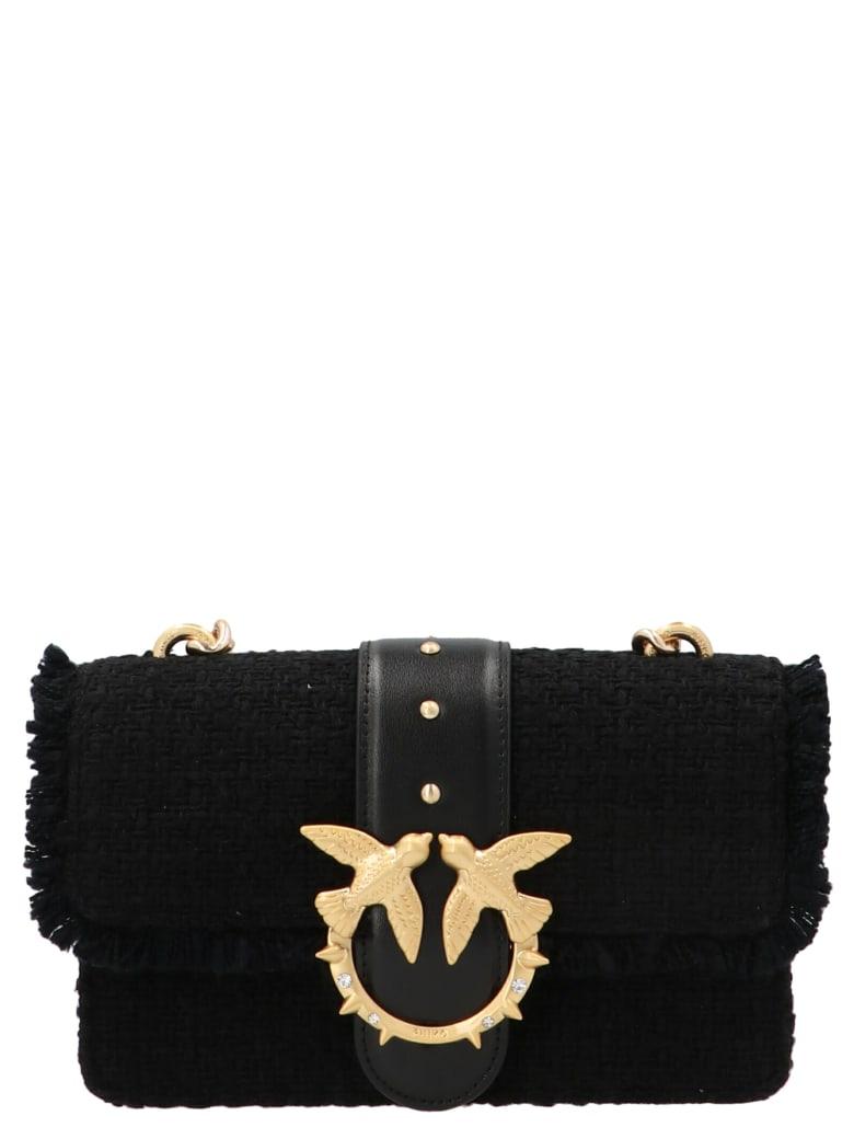 Pinko 'love Mini Icon Madame' Bag - Black