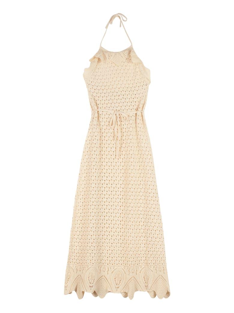 Pinko Autorete Long Dress - Sand