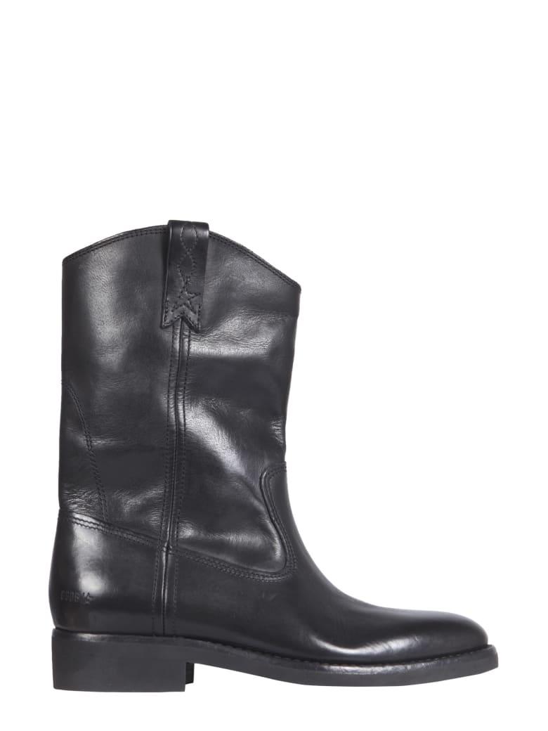 Golden Goose Biker Boots - NERO