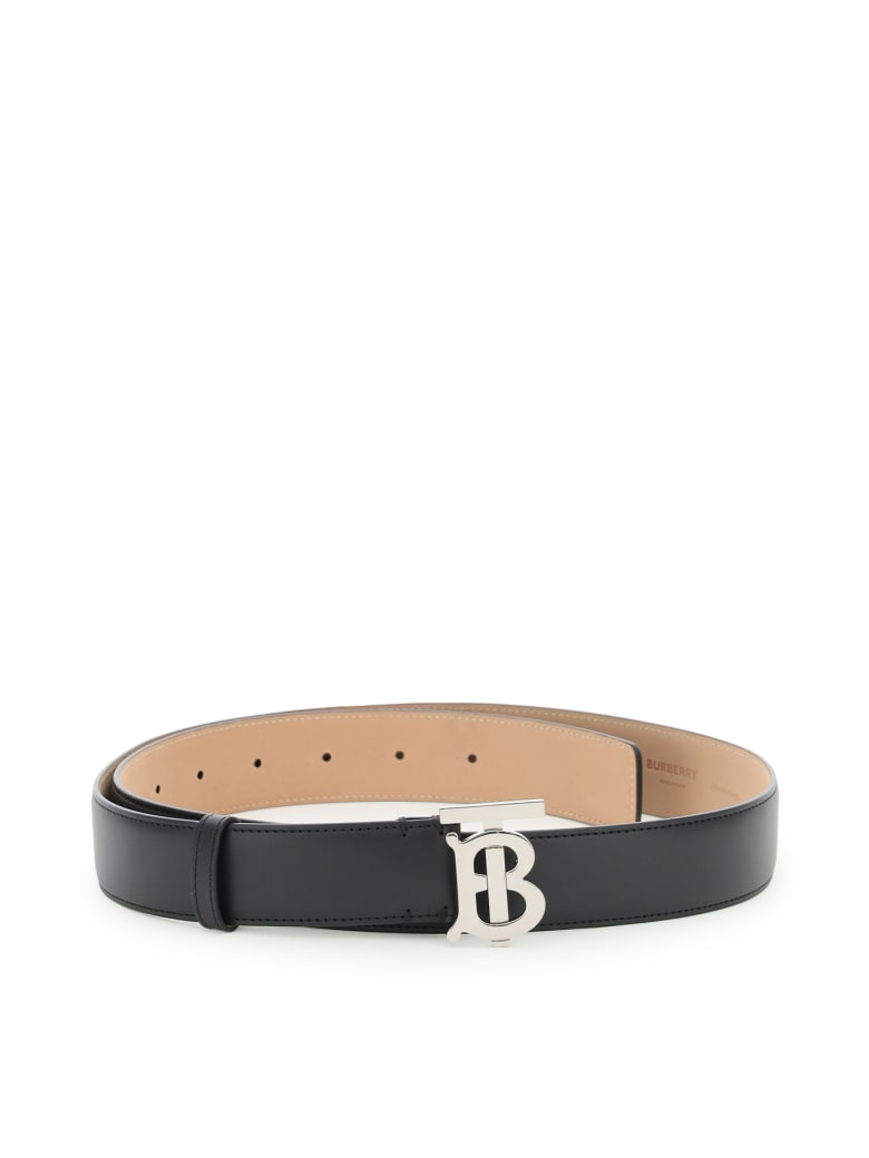 Burberry Tb Belt 35 - Black Palladio