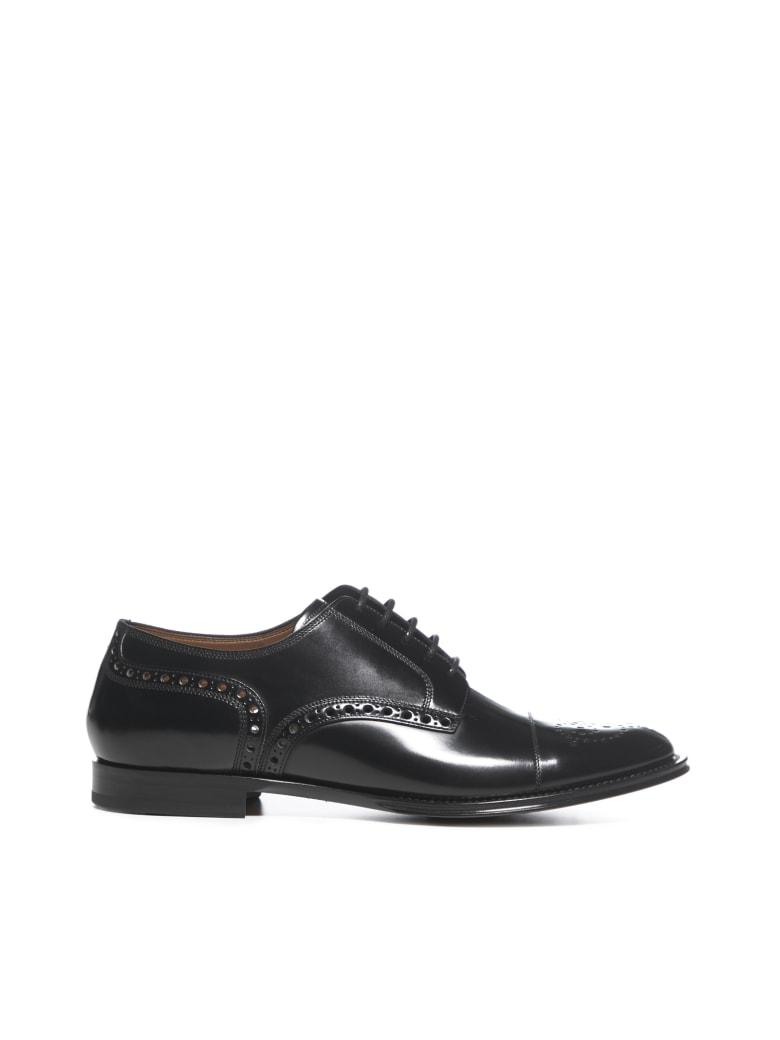 Dolce & Gabbana Laced Shoes - Nero marrone