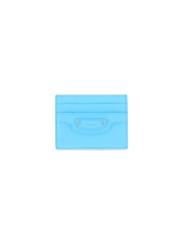 Balenciaga Card Holder - Azur