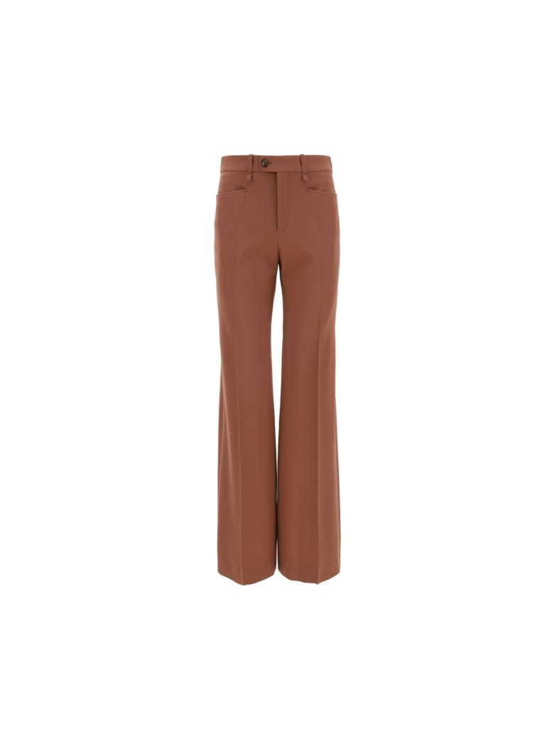 Chloé Pants - Amber brown