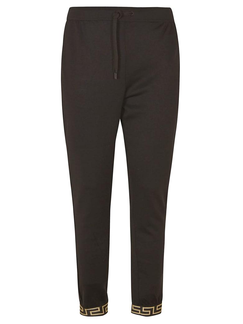 Versace Drawstring Track Pants - Black