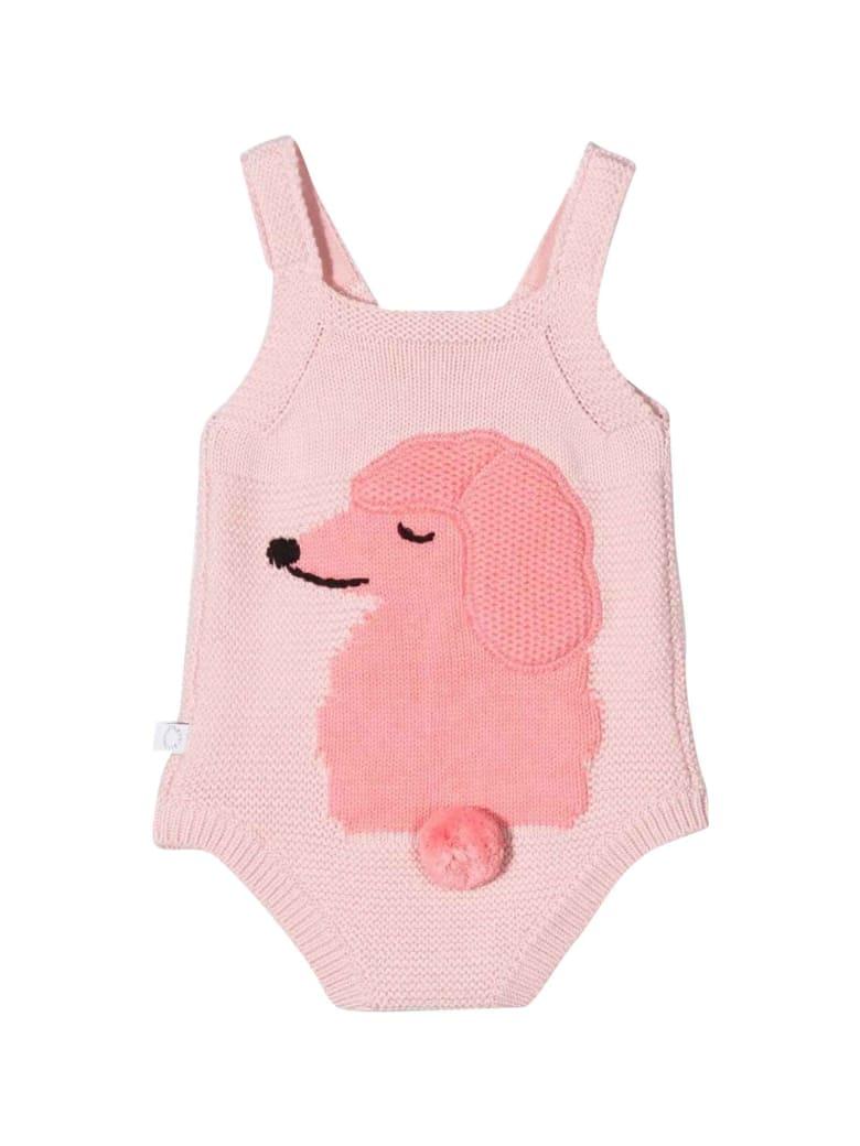 Stella McCartney Kids Pink Baby Girl Body - Rosa