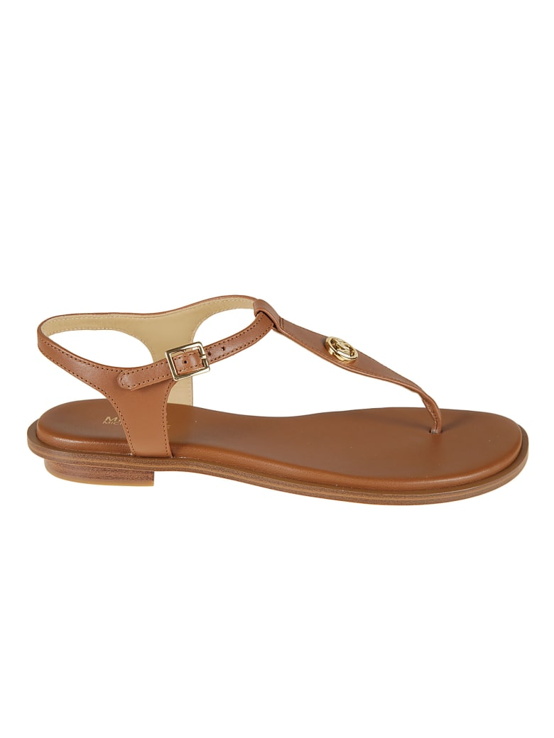 Michael Kors Mallory Thong Flat Sandals - Cuoio
