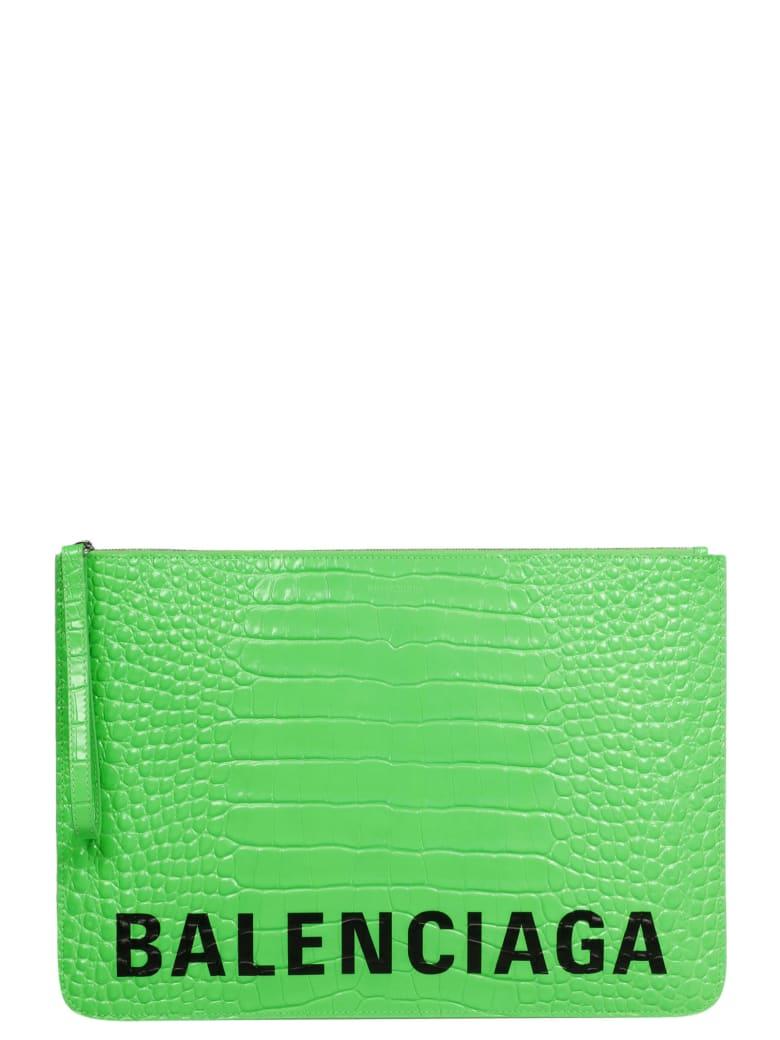 Balenciaga Cash Pouch - Green