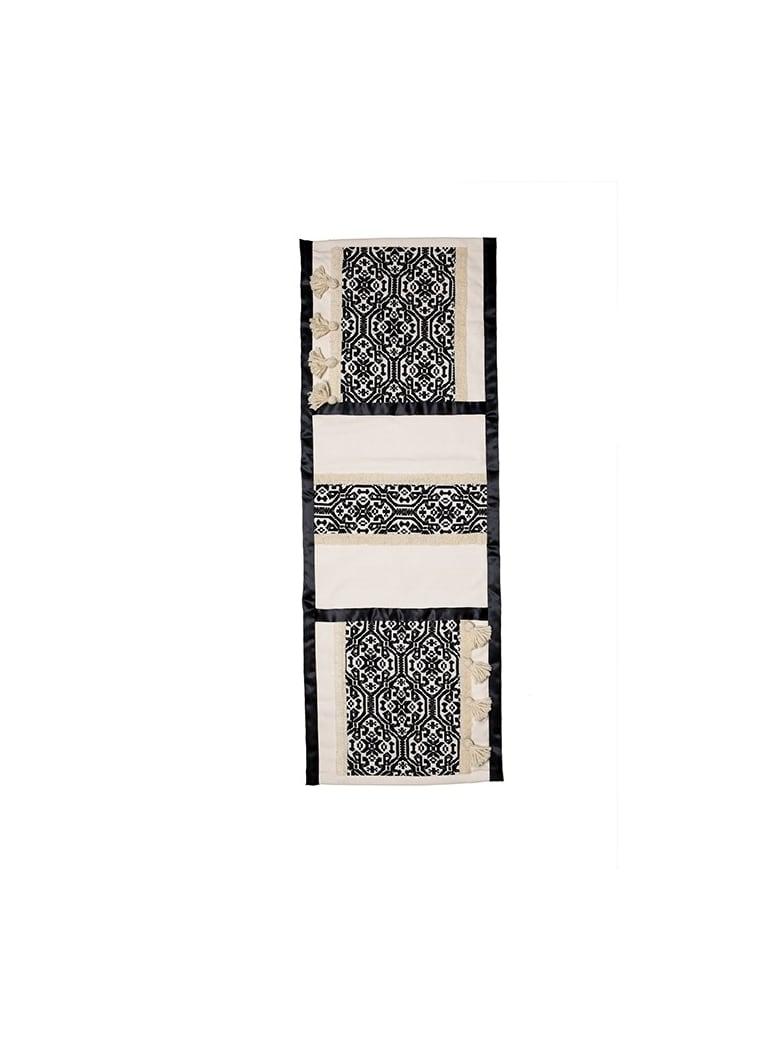 Le Botteghe su Gologone Tapestries Trama 150x50 Cm - Black