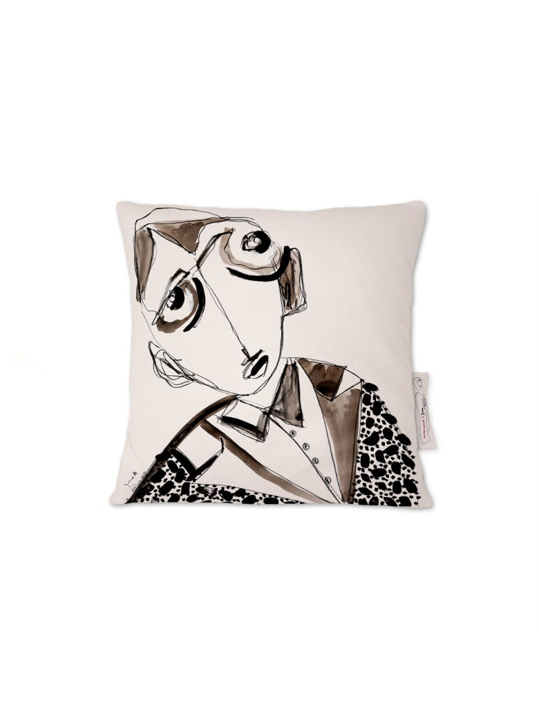 Kiasmo Cushions Amarcord V - Black/White