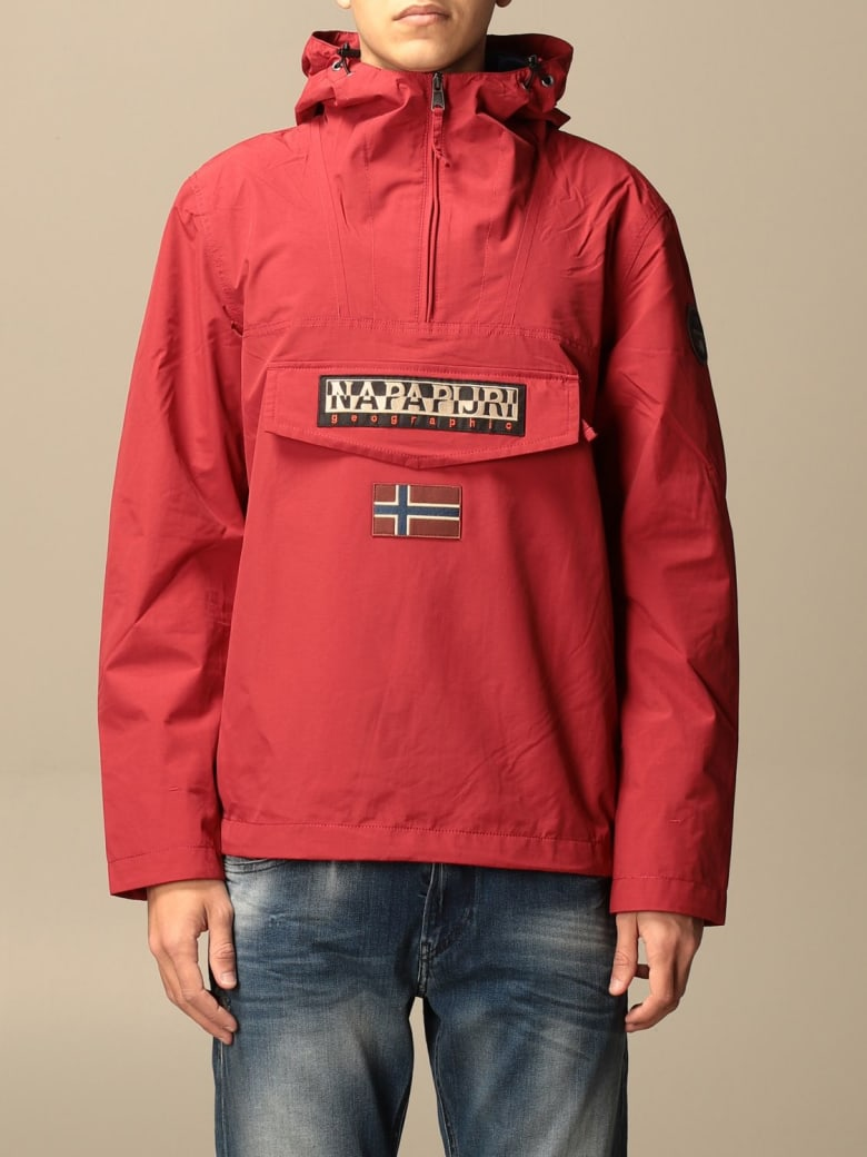 Napapijri Jacket Rainforest M Sum 2 Anorak Napapijri Jacket - Red