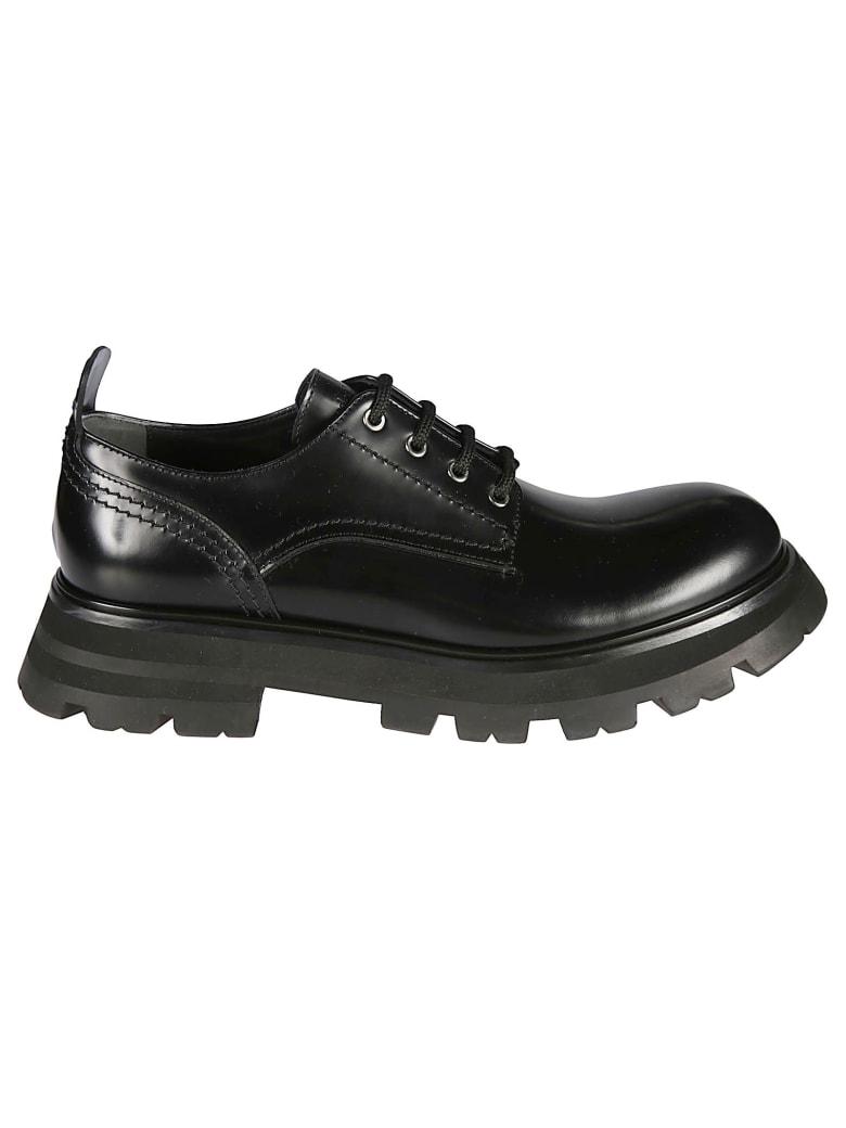 Alexander McQueen Classic Derby Shoes - Nero