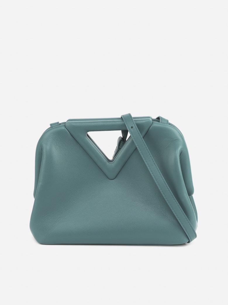 Bottega Veneta Small Point Bag In Leather - Oro