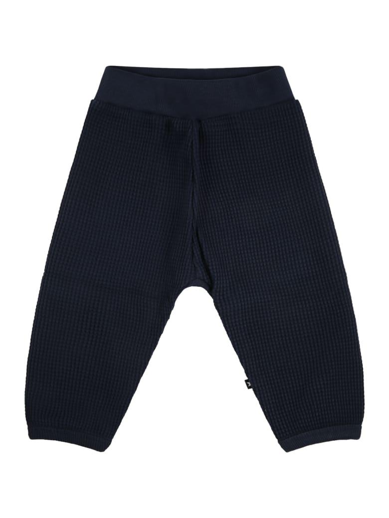 Molo Blue Sweatpants For Babykids - Blue