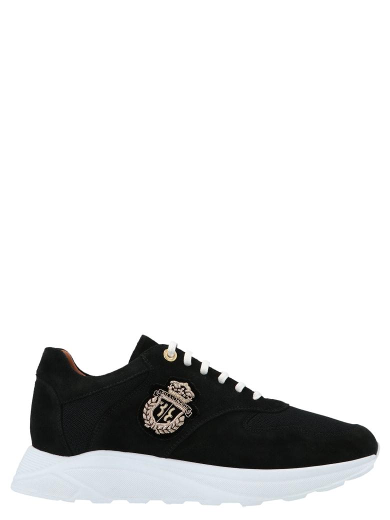Billionaire 'runner Logo Crest' Shoes - Black