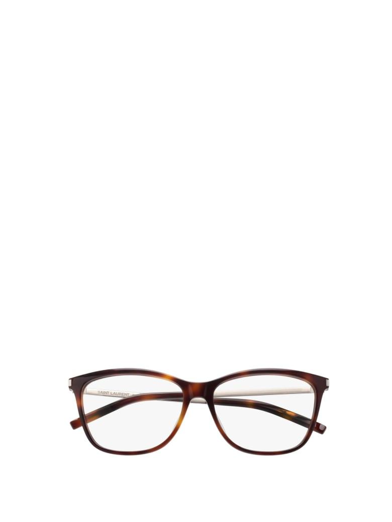 Saint Laurent Saint Laurent Sl 92 Havana Glasses - Havana