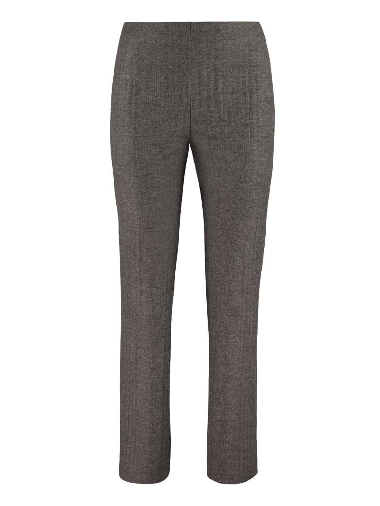 Fendi Flannel And Cashmere Trousers - grey