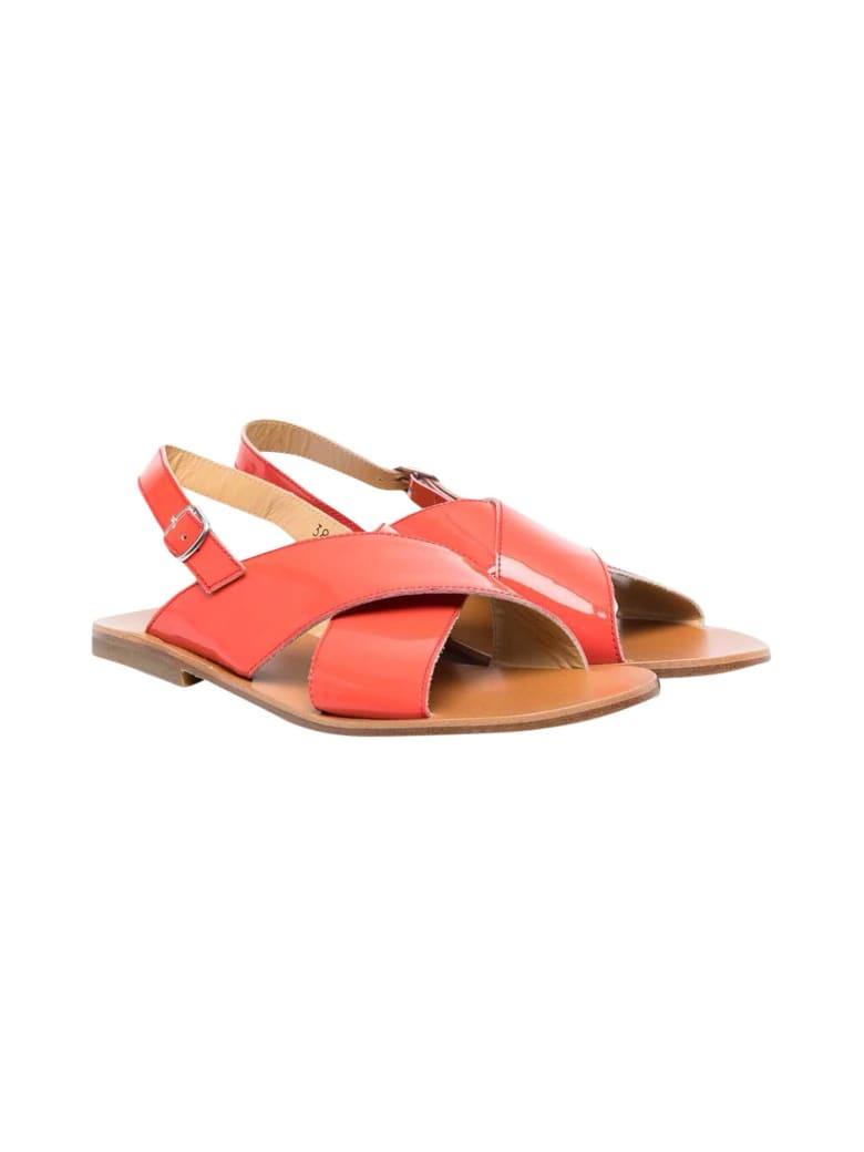 Gallucci Kids Red Sandals - Rosso